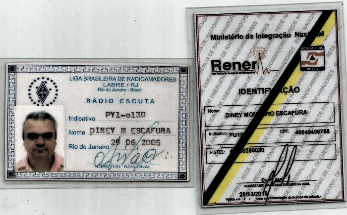 ORGULHO DE SER SWL E COLABORADOR DA RENER